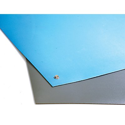 Kit de tapis de table antistatique - L x l 3000 x 1200 mm
