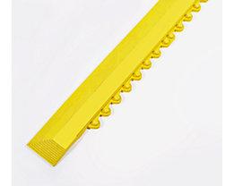 COBA Randleiste, Länge 900 mm - mit Verbindungselementen - gelb