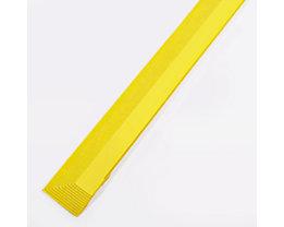 COBA Randleiste, Länge 900 mm - mit Aussparung - gelb