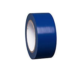 MORAVIA Bodenmarkierungsband aus Vinyl, einfarbig - Breite 50 mm - blau, VE 8 Rollen