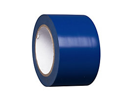 MORAVIA Bodenmarkierungsband aus Vinyl, einfarbig - Breite 75 mm - blau, VE 8 Rollen