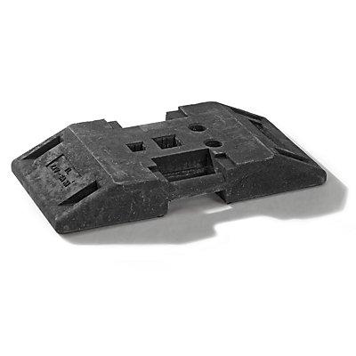 Bodenplatte - aus Recyclingkunststoff - LxBxH 800 x 400 x 120 mm