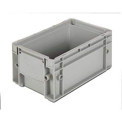 Stapelbehälter aus Polypropylen - Inhalt 5 l, Außenmaße LxBxH 300 x 200 x 147 mm