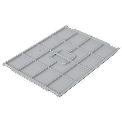 VECTURA Deckel aus Polypropylen - für Behälter-LxB 400 x 300 mm
