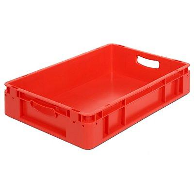 Industriebehälter - Inhalt 20 l, LxBxH 600 x 400 x 120 mm, VE 5 Stk
