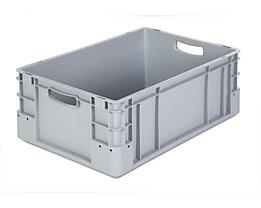 Industriebehälter - Inhalt 40 l, LxBxH 600 x 400 x 220 mm, VE 4 Stk