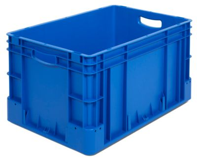 Industriebehälter - Inhalt 60 l, LxBxH 600 x 400 x 320 mm, VE 3 Stk