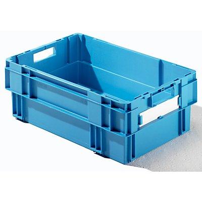 Drehstapelkasten - Inhalt 37 Liter, Wände und Boden geschlossen, VE 4 Stk