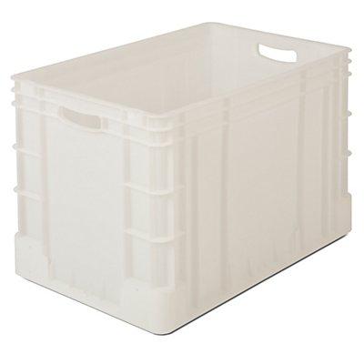 Stapelbehälter aus Polypropylen - Inhalt 80 l, Außenmaße LxBxH 600 x 400 x 420 mm
