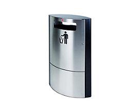 Abfallsammler mit Inneneimer - abschließbar mit 35 Liter Inhalt