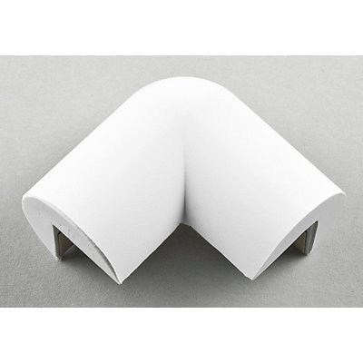 SHG Knuffi Warn- und Schutzprofil, Schutzecke - in 2D, Querschnitt Dreiviertelkreis