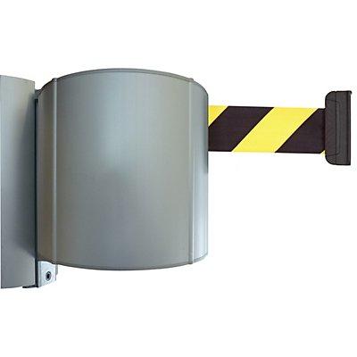 Gurtbandkassette aus Aluminium - schraubbar inkl. Wandclip