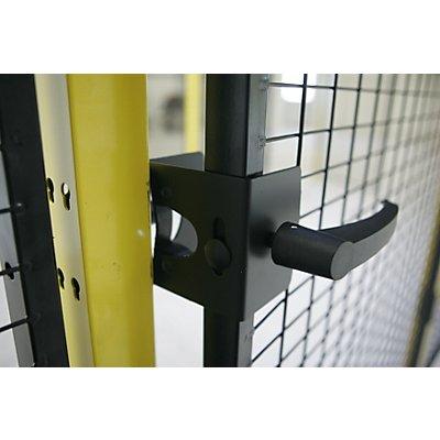 Griff- und Schnappverschluss - für Schwenktür - für Maschinenschutzgitter