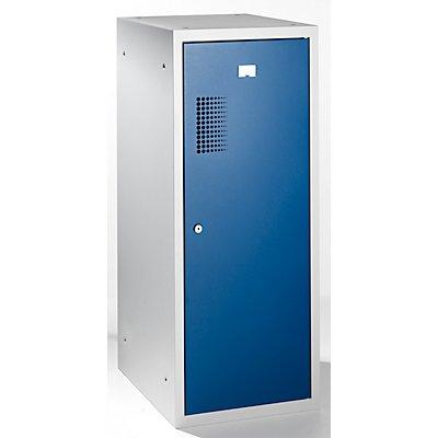 QUIPO Schließfachschrank, je 1 Kleiderstange - HxBxT 1000 x 400 x 500 mm, mit Zylinderschloss