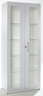 Mauser Medikamentenschrank - 2 Flügeltüren, 4 Fachböden