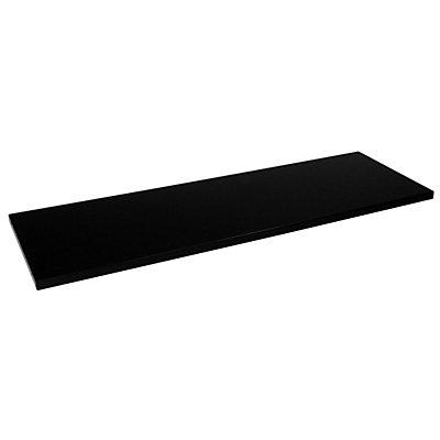 Mauser Fachboden - für Schrank-BxT 1200 x 420 mm, VE 2 Stk - schwarz
