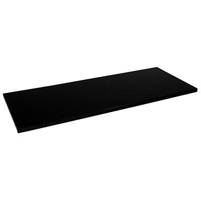 Mauser Fachboden - für Schrank-BxT 1200 x 500 mm, VE 2 Stk - schwarz