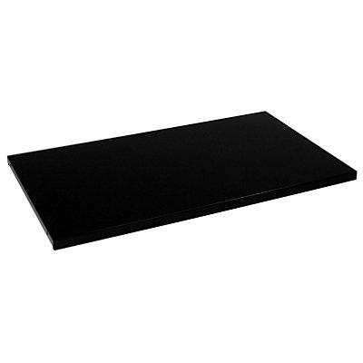 Mauser Fachboden - für Schrank-BxT 1600 x 420 mm, VE 2 Stk - schwarz