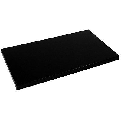 Mauser Fachboden - für Schrank-BxT 1600 x 500 mm, VE 2 Stk - schwarz