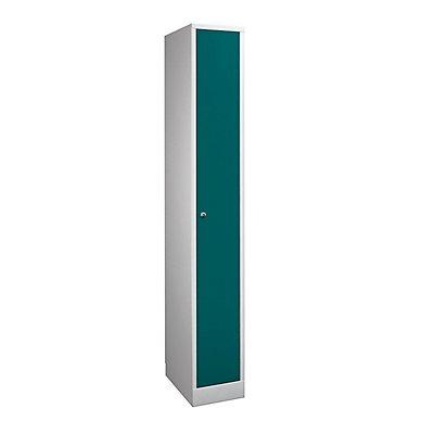 Wolf Garderobenschrank in Komfort-Größe - 1 Abteil, Abteilbreite 300 mm