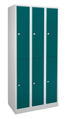 Garderobenschrank in Komfort-Größe - 6 Abteile, Abteilbreite 400