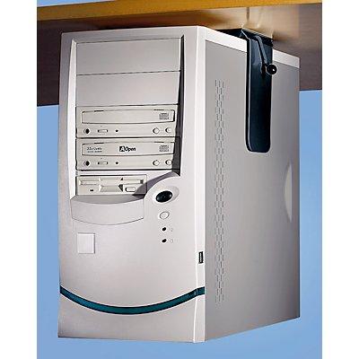 Twinco CPU-Halter zur Untermontage an Tischplatte - Belastung max. 40 kg