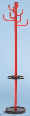 Garderobenständer - Höhe 1700 mm, Ø 450 mm, 8 Mantelhaken