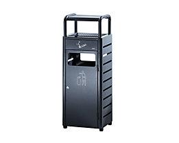 Combiné cendrier-poubelle - capacité poubelle 20 l, capacité cendrier 2,3 l