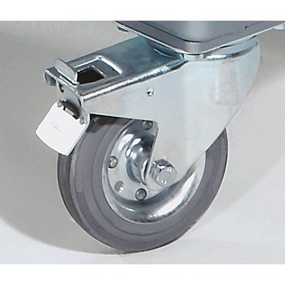 EUROKRAFT Industrie-Tischwagen - Ladefläche LxB 750 x 550 mm