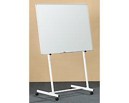 Tafelgestell mobil - für Tafel bis 1000 mm Höhe - für Tafelbreiten 900 – 1500 mm
