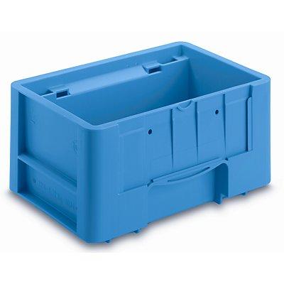 utz Kleinladungsträger C-KLT - Inhalt ca. 4,6 l, Außen-LxBxH 300 x 200 x 147 mm - lichtblau, VE 12 Stk