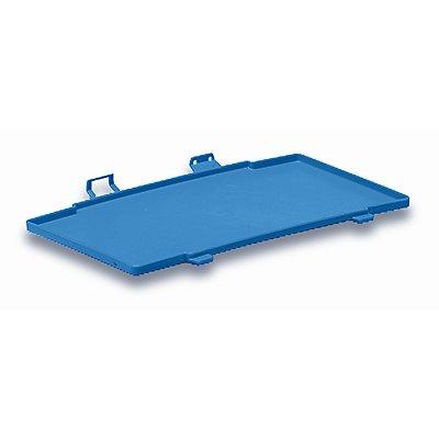 utz Kunststoffdeckel C-KLT aus Polypropylen - lichtblau, VE 2 Stk