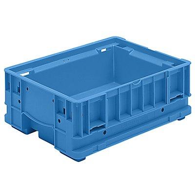 utz Kleinladungsträger C-KLT - Inhalt ca. 8,5 l, Außen-HxBxT 400 x 300 x 147 mm - lichtblau, VE 8 Stk