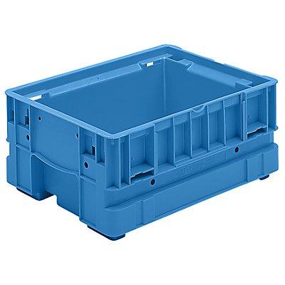 utz Kleinladungsträger C-KLT - Inhalt ca. 11 l, Außen-LxBxH 400 x 300 x 174 mm - lichtblau, VE 6 Stk