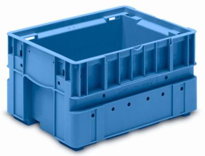 Kleinladungsträger C-KLT - Inhalt ca. 14 l, Außen-LxBxH 400 x 300 x 213 mm - lichtblau, VE 4 Stk