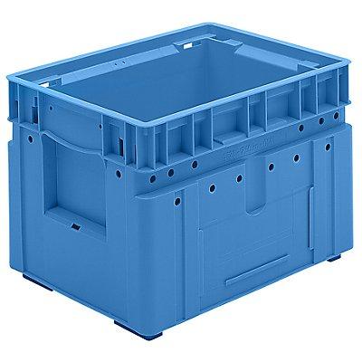 utz Kleinladungsträger C-KLT - Inhalt ca. 19 l, Außen-LxBxH 400 x 300 x 280 mm - lichtblau, VE 4 Stk