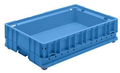 Kleinladungsträger C-KLT - Inhalt ca. 18 l, Außen-LxBxH 600 x 400 x 147 mm - lichtblau, VE 4 Stk