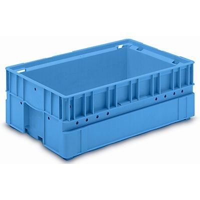 utz Kleinladungsträger C-KLT - Inhalt ca. 30 l, Außen-LxBxH 600 x 400 x 213 mm - lichtblau, VE 3 Stk