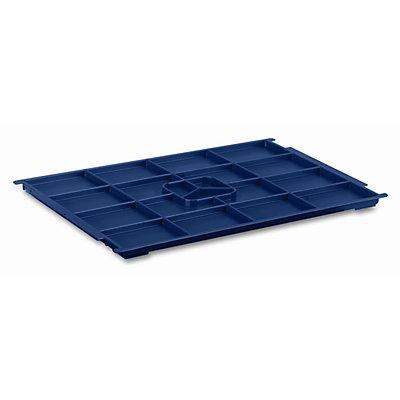 utz Kunststoffdeckel R-KLT aus Polypropylen - saphirblau, VE 2 Stk