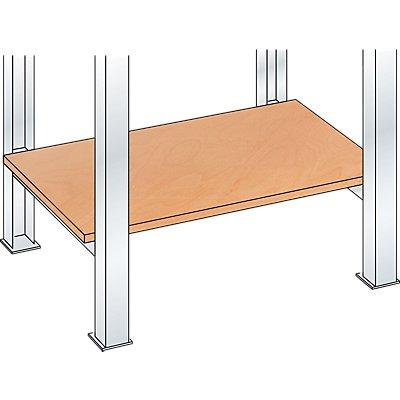 Lista Werkbank-Baukastensystem, Multiplex-Ablageboden - 20 mm stark