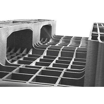 CABKA Schwerlast-Einwegpalette, VE 10 Stk - LxBxH 1200 x 800 x 160 mm - Traglast statisch 14000 kg