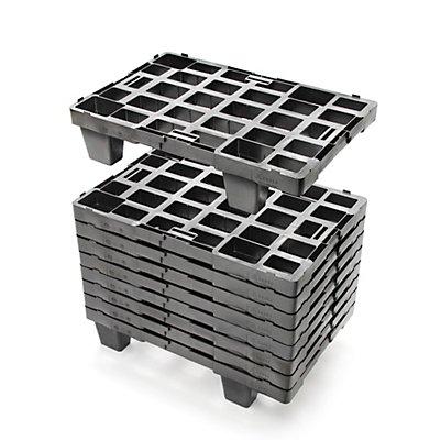 CABKA Displaypalette aus Kunststoff - LxBxH 600 x 400 mm, Traglast statisch 800 kg