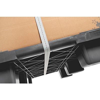 CABKA Containerpalette aus Kunststoff - LxB 1140 x 1140 mm, Traglast statisch 4000 kg