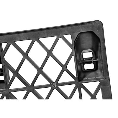 CABKA Europalette aus Kunststoff - LxB 1200 x 800 mm, Traglast statisch 2800 kg