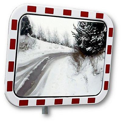 Verkehrsspiegel aus Acrylglas - rechteckig