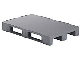 Palette en PE vierge - L x l x h 1200 x 800 x 160 mm, charge max. 7500 kg