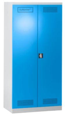 EUROKRAFT Umweltschrank - mit Auszügen für Kanister, 5 Lagerebenen - Breite 950 mm