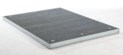 Stahl-Flachwanne, niedrig - Breite 1350 mm