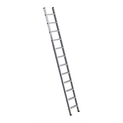 Günzburger Steigtechnik Anlegeleiter mit Stufen - Leiternbreite 350 mm