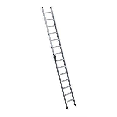 Anlegeleiter mit Stufen - Profiausführung, Leiternbreite 420 mm